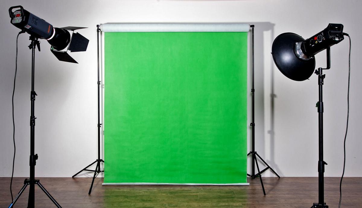мне снять фотостудию со студийным зеленым фоном что это прочно